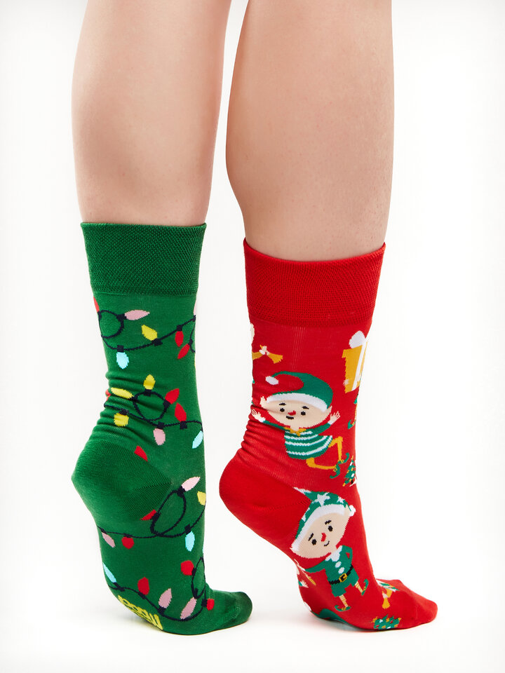 Looking for an original and unusual gift? The gifted person will surely surprise with Regular Socks Elves