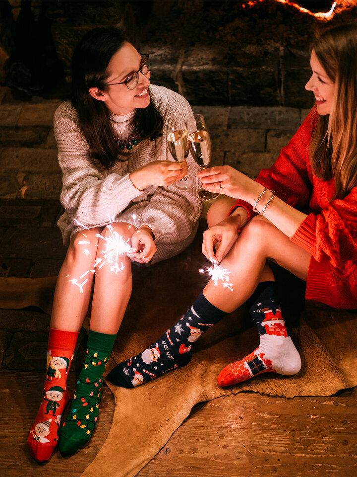 Bereiten Sie sich Freude mit diesem Dedoles-Stück Lustige Socken Elfen