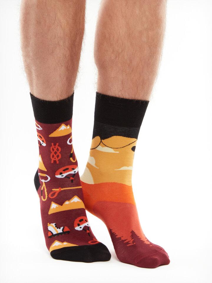 Pre dokonalý a originálny outfit Vesele nogavice Plezanje