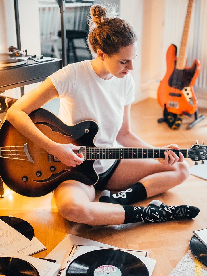 Obrázok produktu Vrolijke sokken Muziek