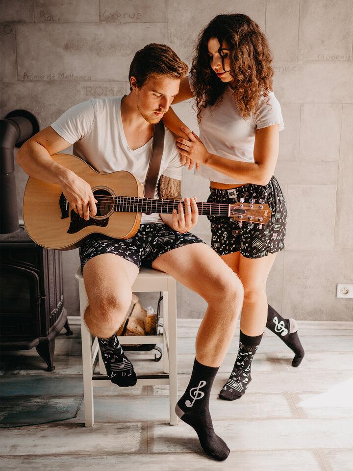 Tip na darček Vrolijke sokken Muziek