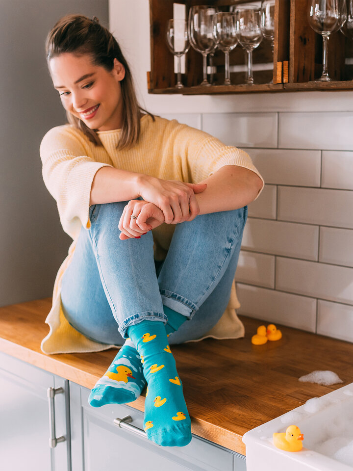 Looking for an original and unusual gift? The gifted person will surely surprise with Regular Socks Ducks