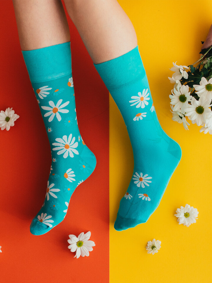 Original gift Regular Socks Chamomile
