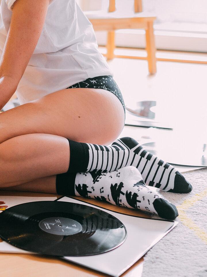 Rabatt Lustige Socken Klavier