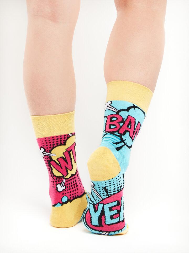 Obrázok produktu Vrolijke sokken Strip