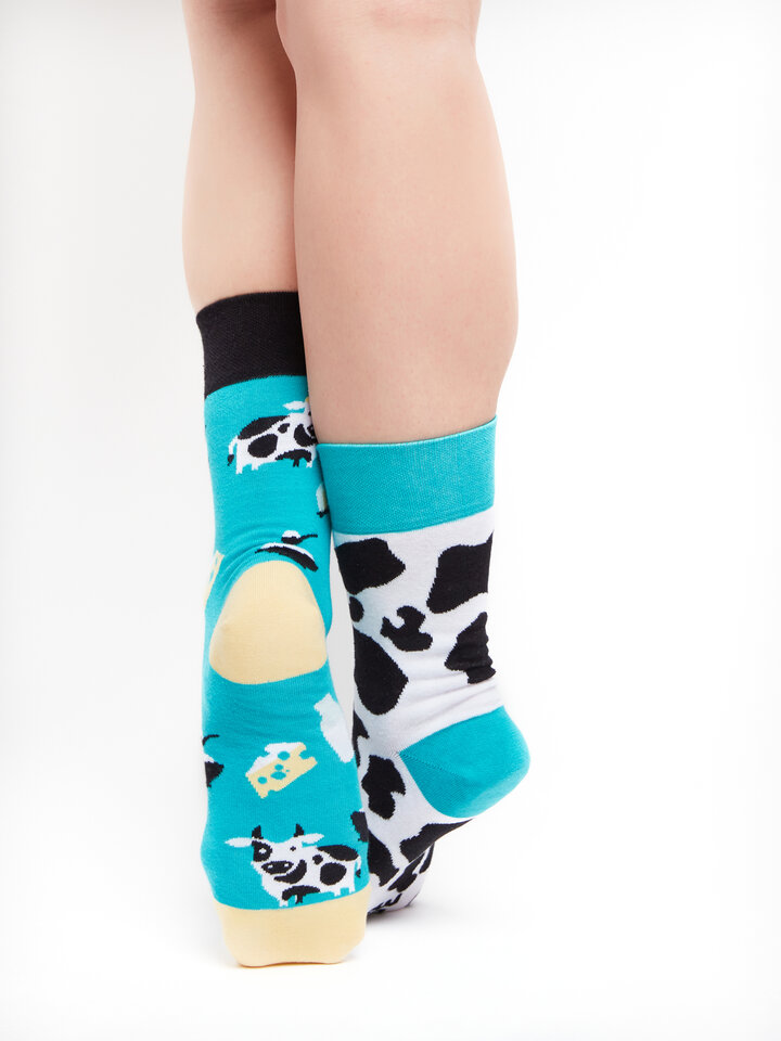 Sale Regular Socks Cow