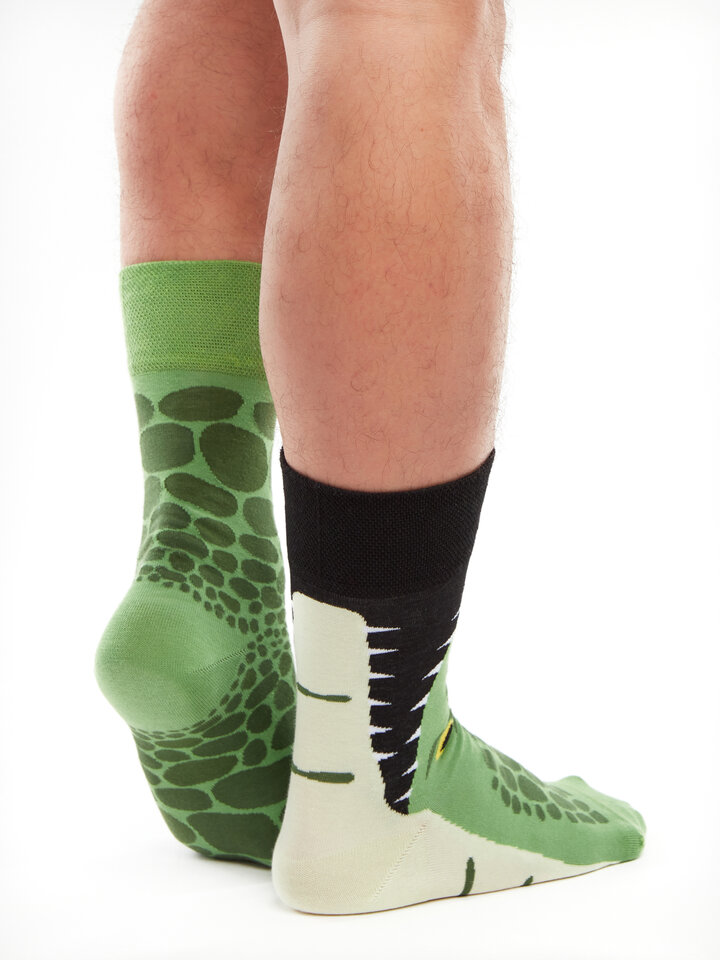 Sale Regular Socks Crocodile