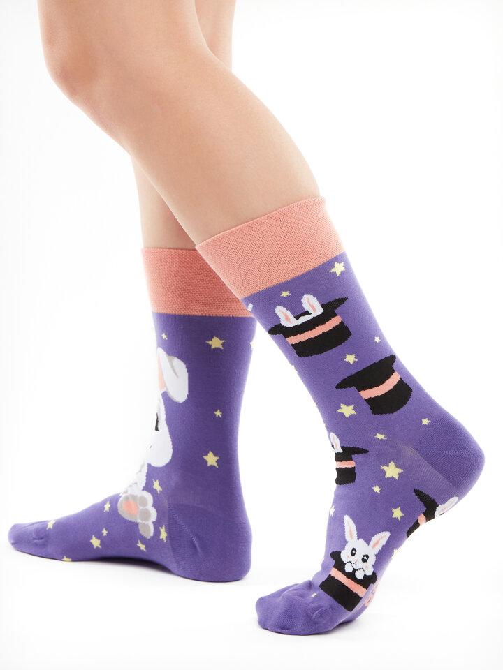 Potešte sa týmto kúskom Dedoles Vrolijke sokken Magisch konijn