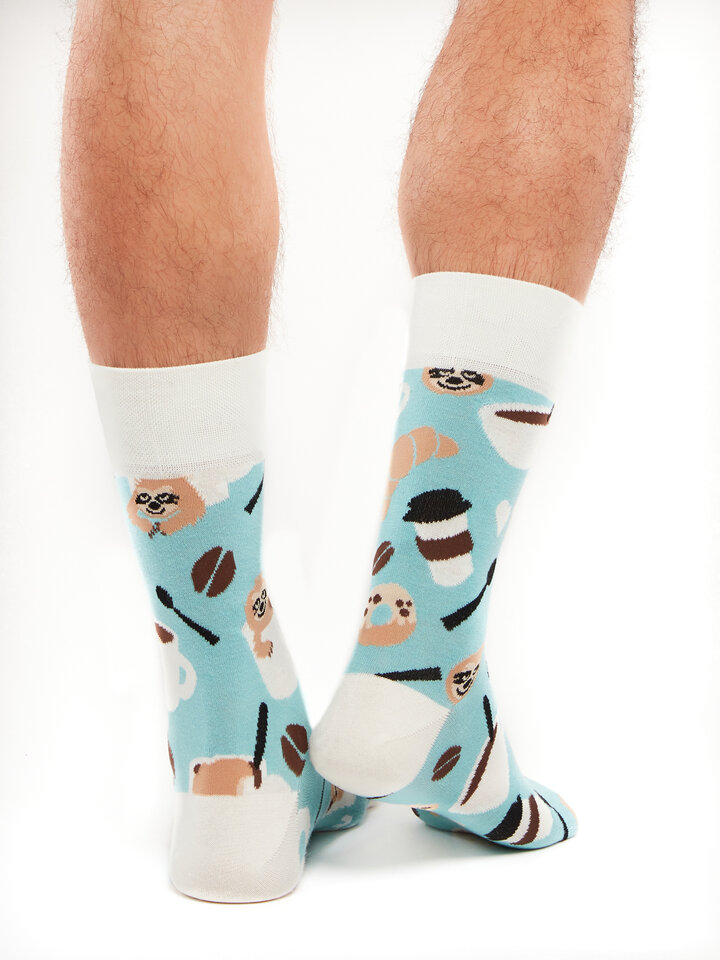 Potešte sa týmto kúskom Dedoles Весели чорапи Ленивец в чаша