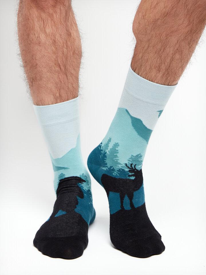 Geschenk von Dedoles Lustige Socken Wald