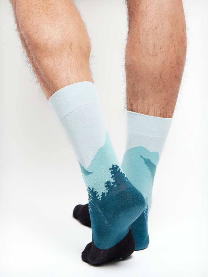 Gift idea Regular Socks Forest