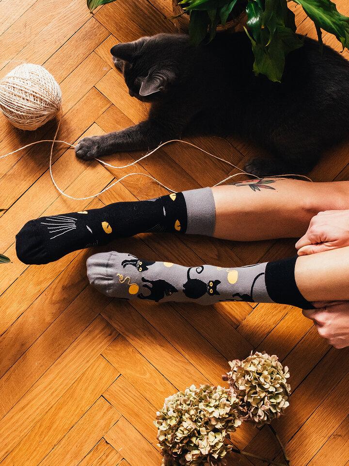 Pre dokonalý a originálny outfit Vrolijke sokken Katten