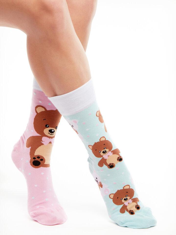 Výnimočný darček od Dedoles Vrolijke sokken Teddybeer
