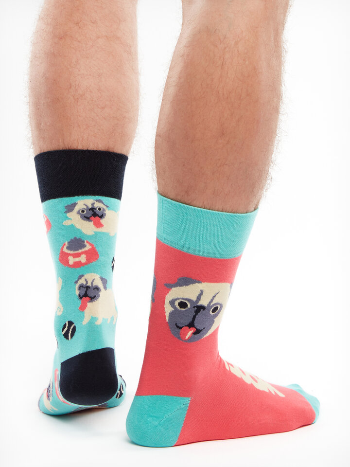 Geschenktipp Lustige Socken Mops