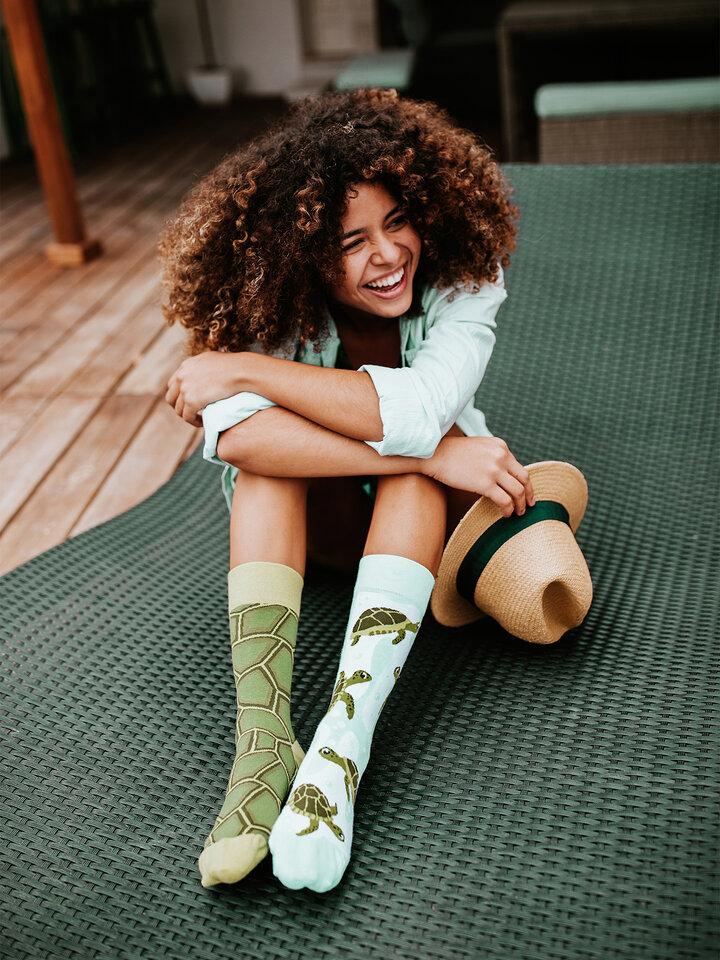 Výjimečný dárek od Dedoles Veselé ponožky Mořské želvy