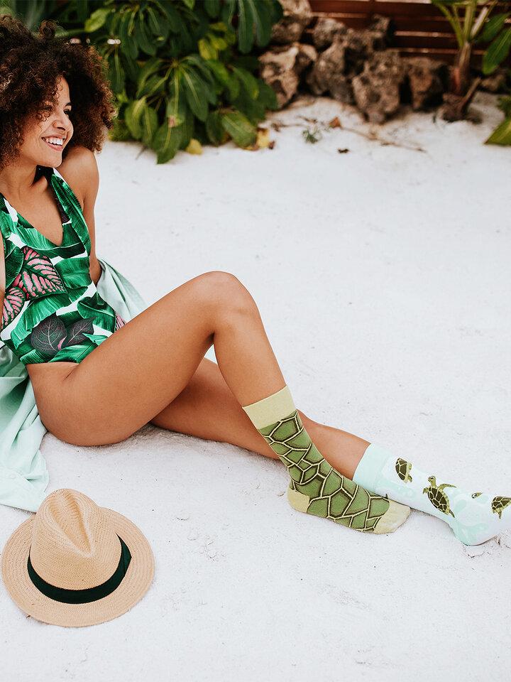 Tip na dárek Veselé ponožky Mořské želvy