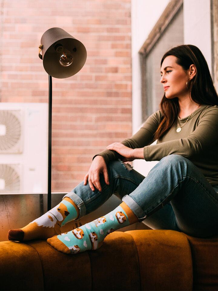 Potešte sa týmto kúskom Dedoles Veselé ponožky Morské prasiatko