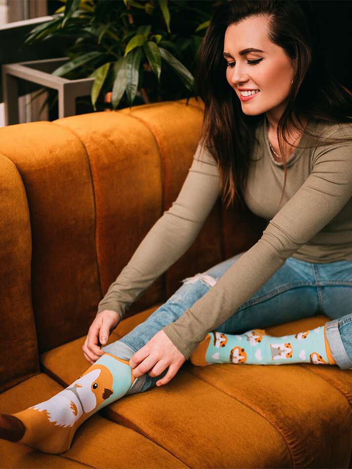 Pre dokonalý a originálny outfit Veselé ponožky Morské prasiatko