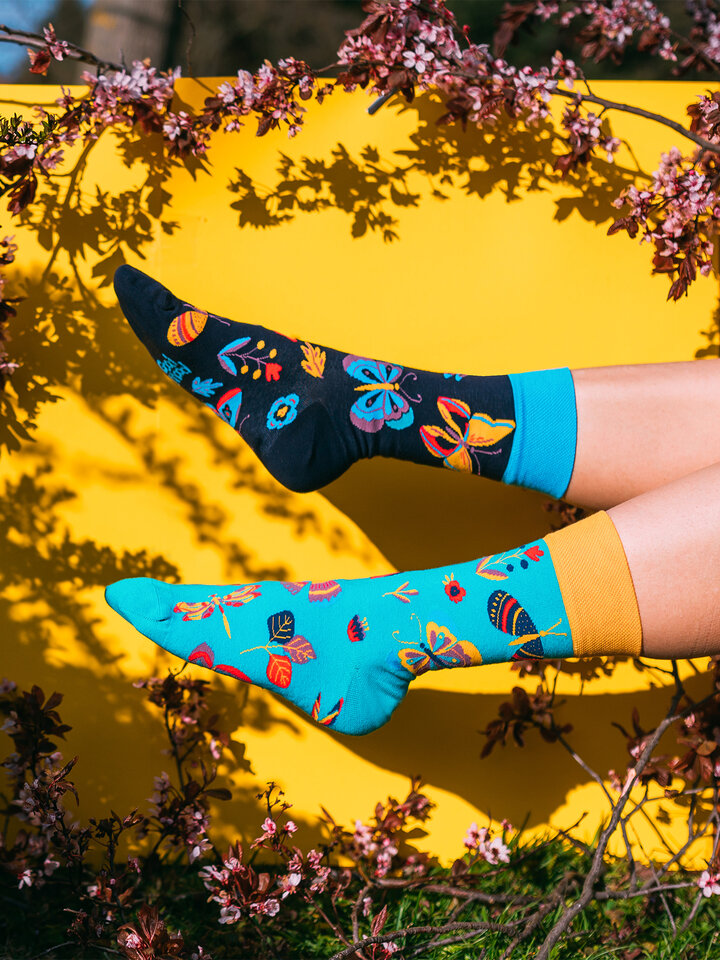Gift idea Regular Socks Butterflies