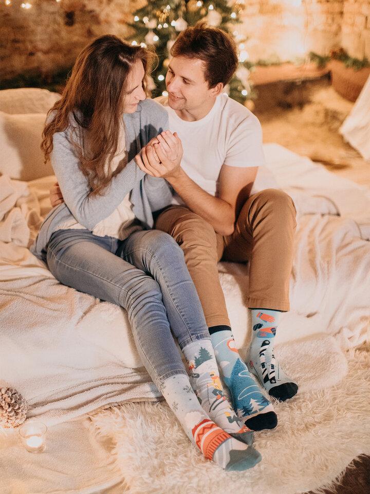 Obrázok produktu Vesele čarape Na skijama