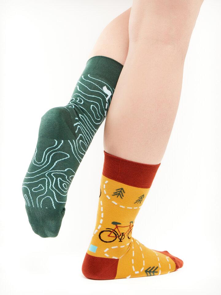 Foto Lustige Socken Auf der Strecke