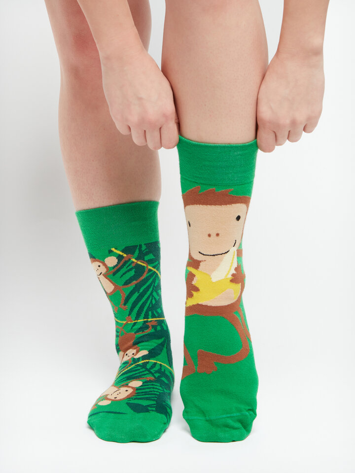 Gift idea Regular Socks Monkeys