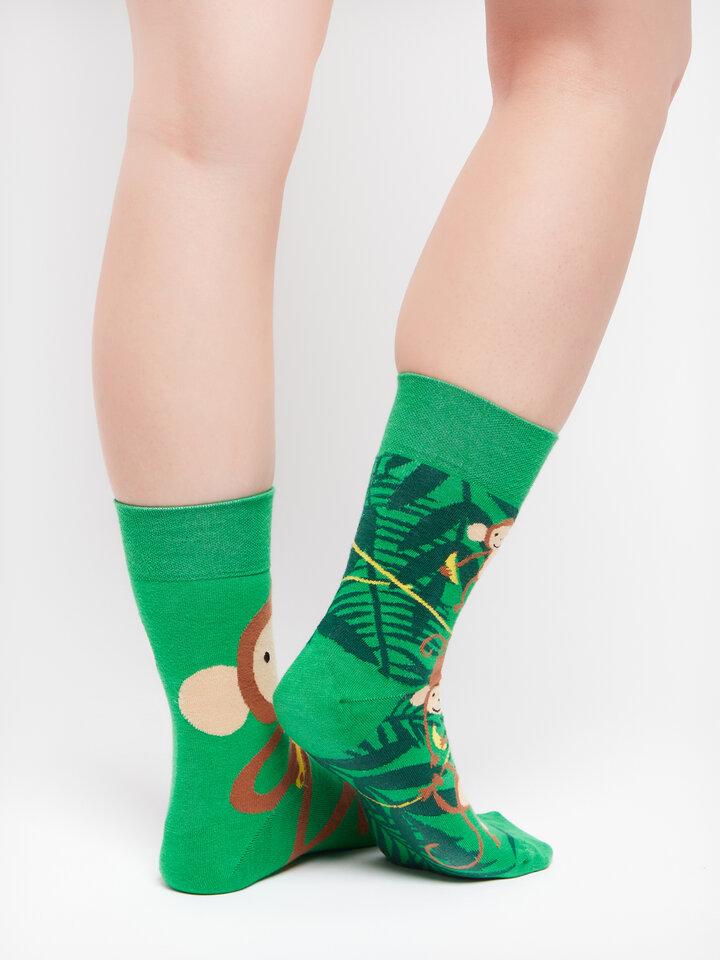 Obrázok produktu Vrolijke sokken Apen