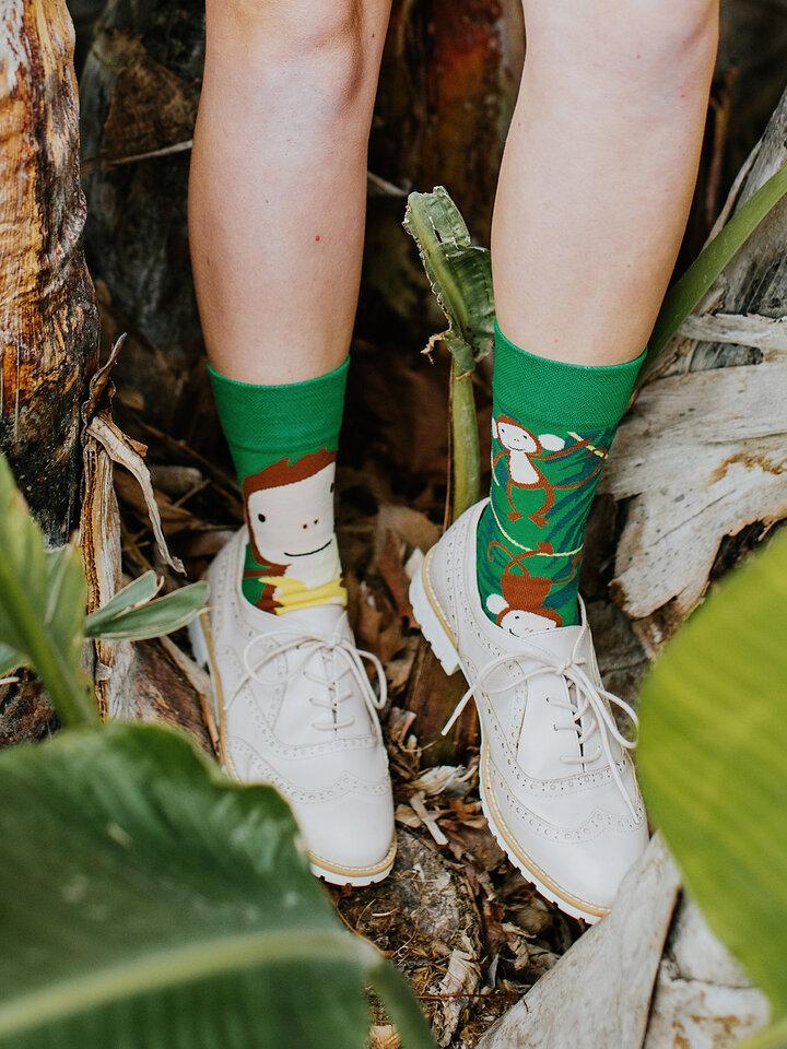 Potešte sa týmto kúskom Dedoles Regular Socks Monkeys
