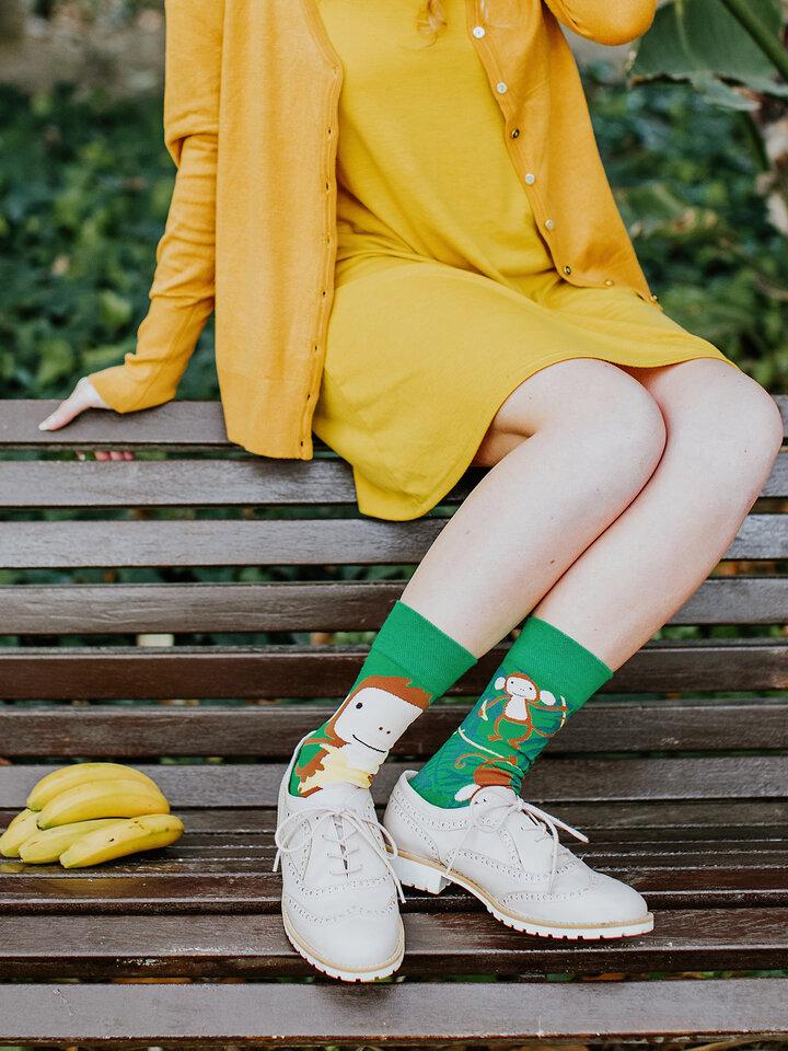Lifestyle foto Șosete Vesele Maimuțe
