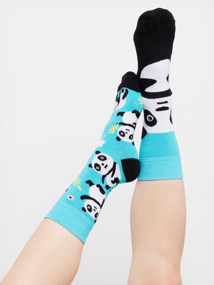 Pre dokonalý a originálny outfit Regular Socks Panda