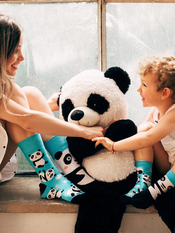 Pre dokonalý a originálny outfit Wesołe skarpetki Panda