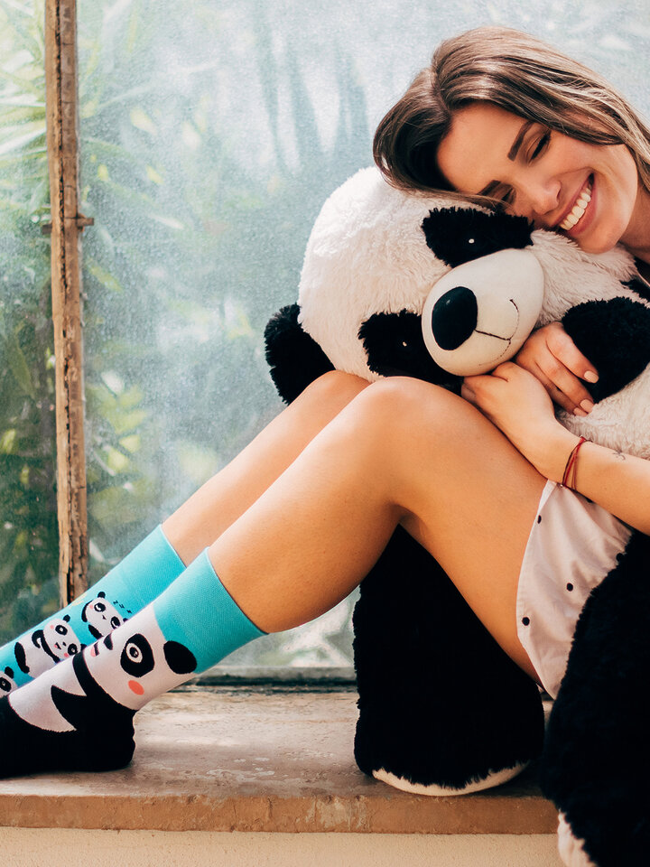 Sale Regular Socks Panda