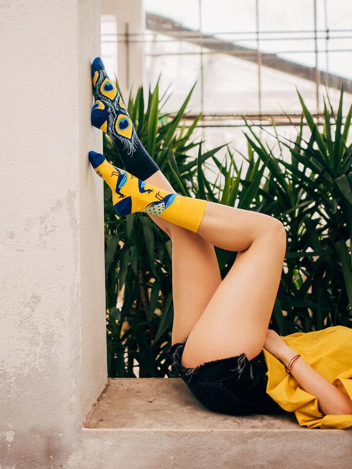 Obrázok produktu Весели чорапи Паун