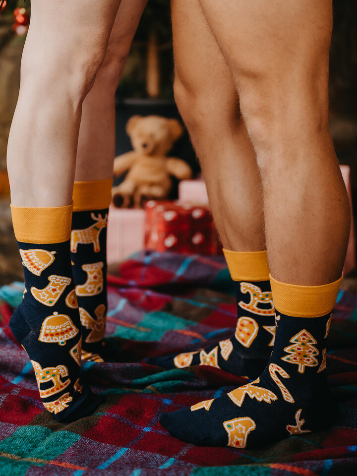 Lifestyle photo Regular Socks Gingerbread Cookies