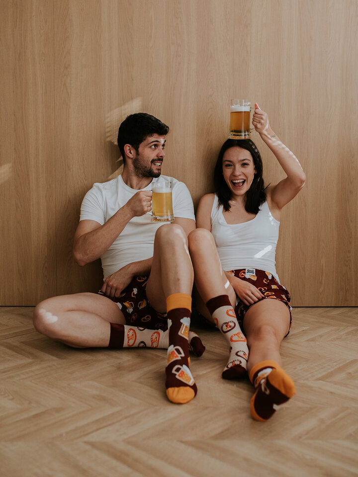 Ausverkauf Lustige Socken Bier