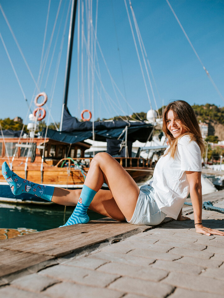 Original gift Regular Socks Sailing