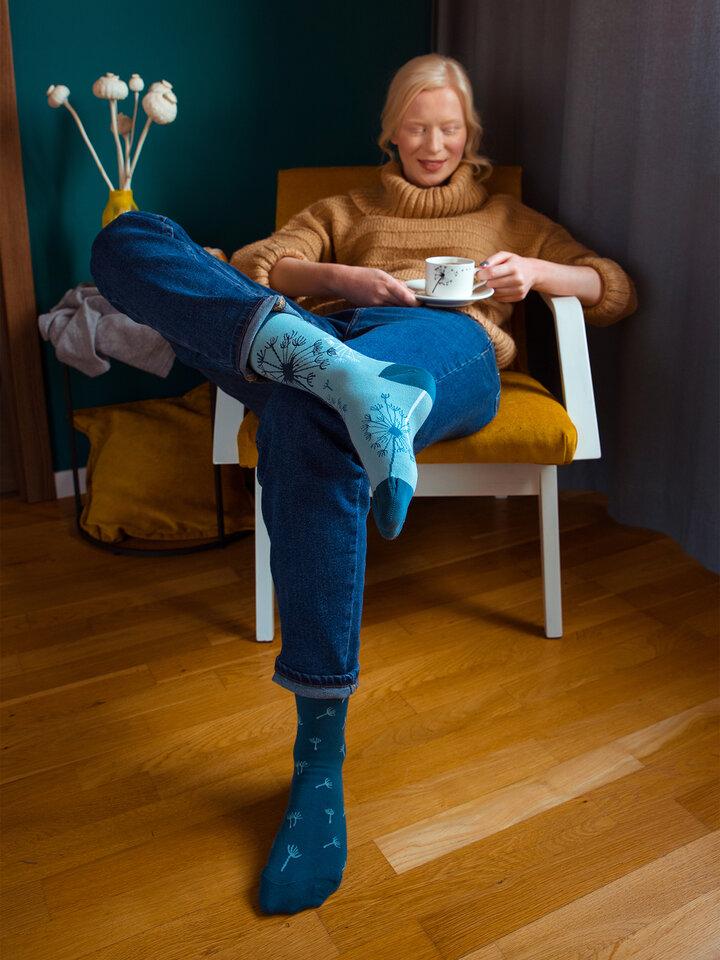 für ein vollkommenes und originelles Outfit Lustige Socken Löwenzahn
