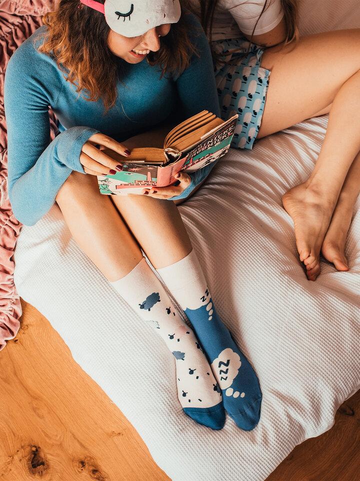 Pre dokonalý a originálny outfit Vrolijke sokken Schapen tellen