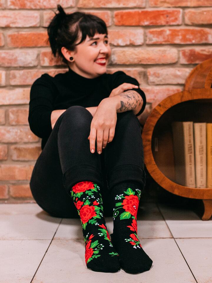 Pre dokonalý a originálny outfit Regular Socks Roses