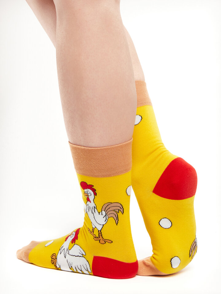 Sale Regular Socks Chicken or the Egg