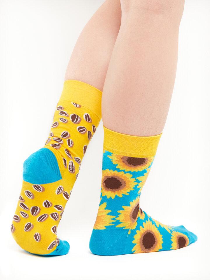 Sale Regular Socks Sunflower