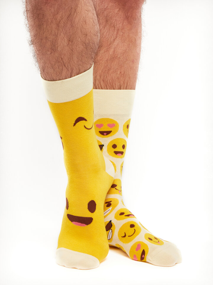 Foto Lustige Socken Smileys