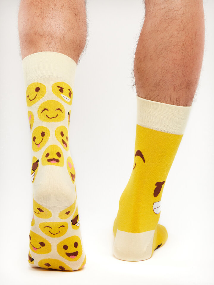 Looking for an original and unusual gift? The gifted person will surely surprise with Regular Socks Smileys