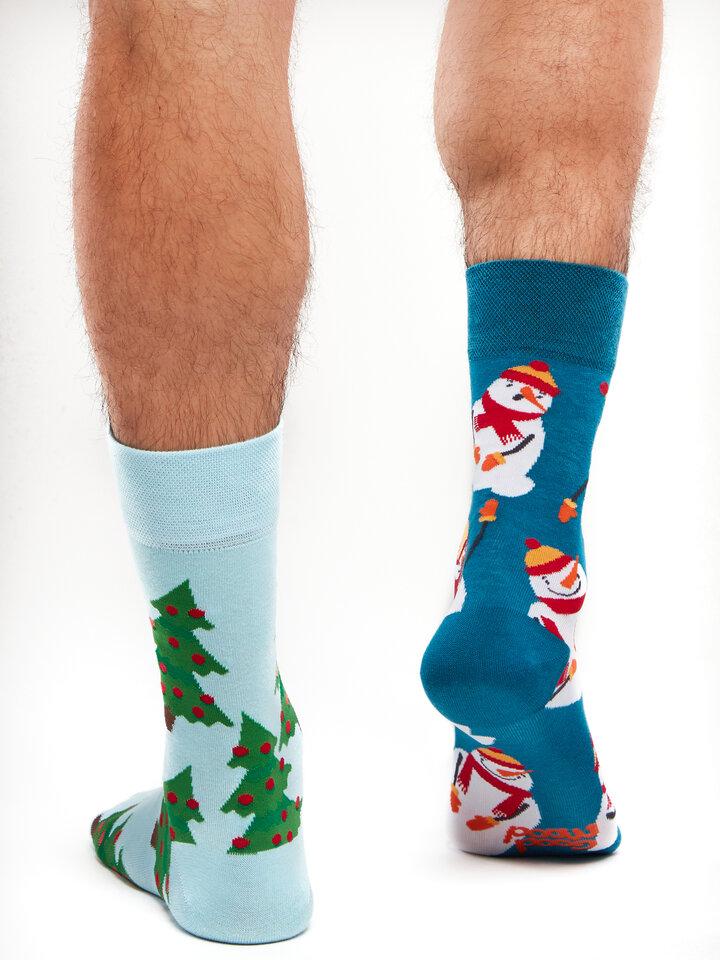 Pre dokonalý a originálny outfit Vrolijke sokken Sneeuwpop