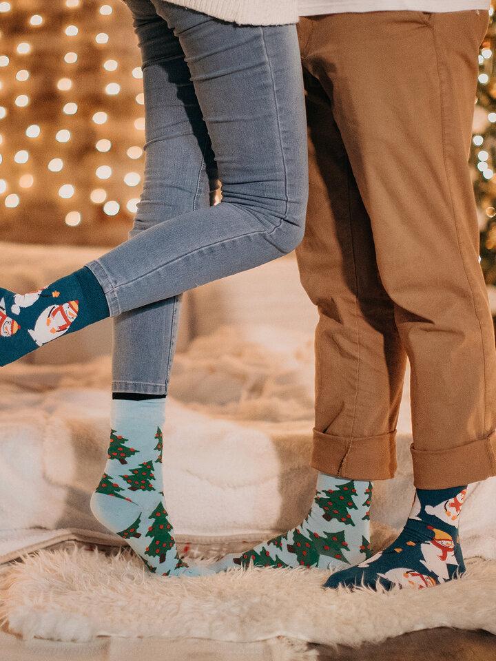 Tip na darček Vrolijke sokken Sneeuwpop