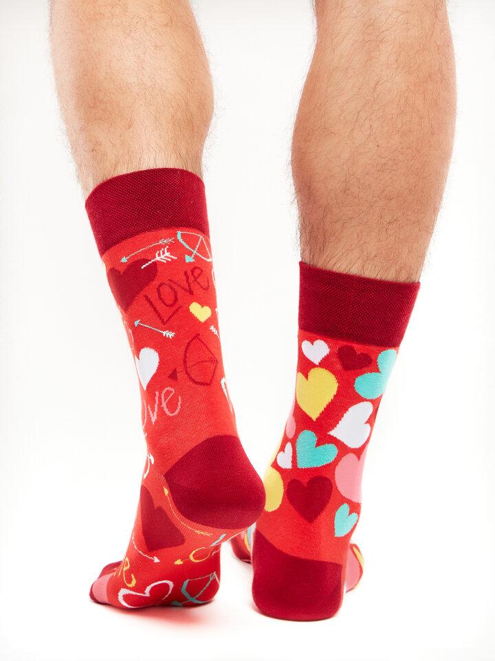 Potešte sa týmto kúskom Dedoles Vesele čarape Srculenca