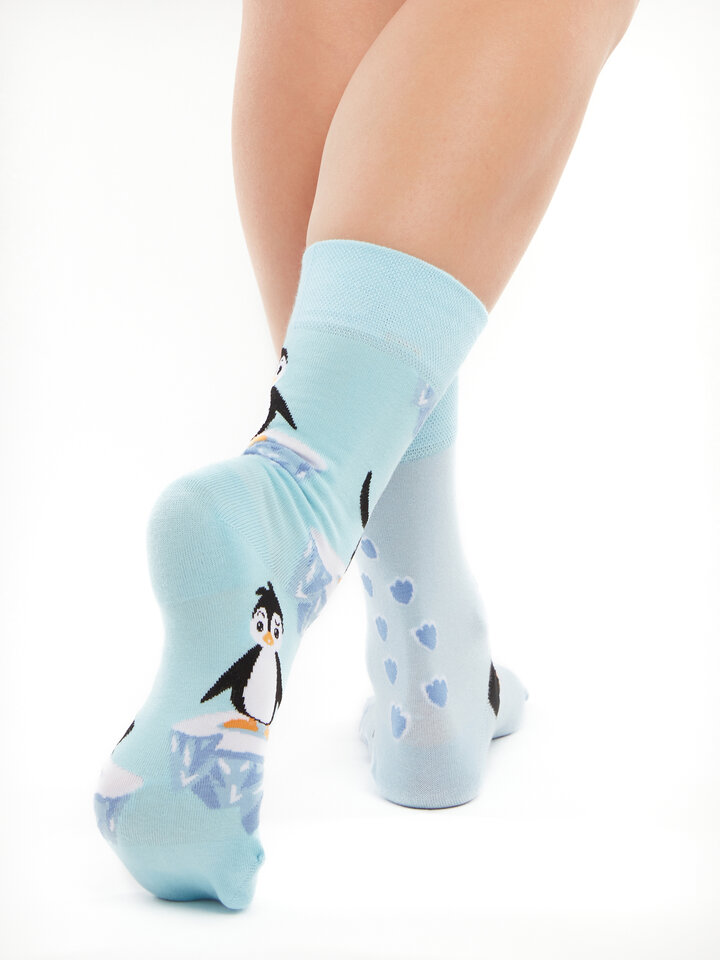Sale Regular Socks Happy Penguin
