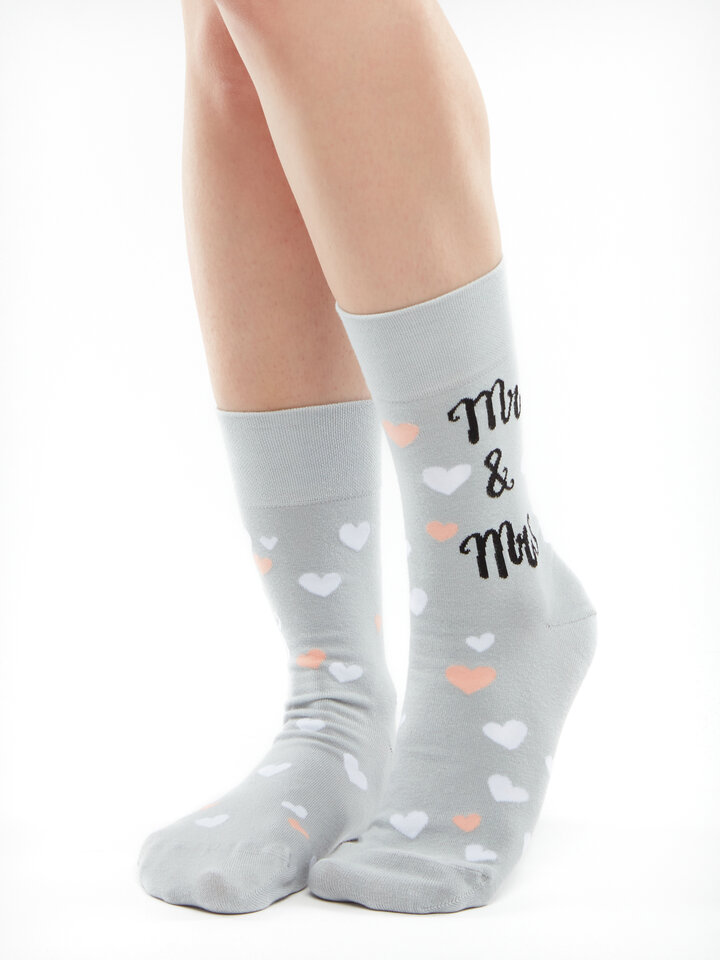 Gift idea Regular Socks Wedding Cats
