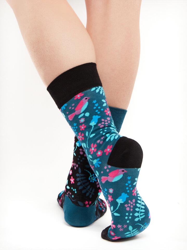 Pre dokonalý a originálny outfit Vrolijke sokken Geheime tuin