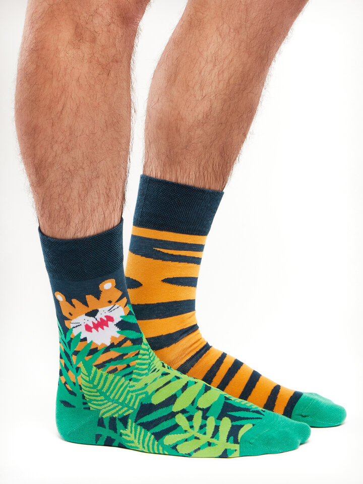 Sale Regular Socks Tiger